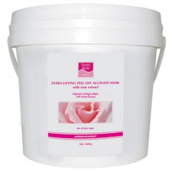 Beauty Style Alginate Collagen Mask with Rose Extract, 1 kg bucket