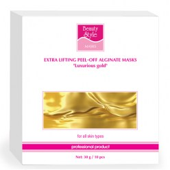 Beauty Style Sumptuous Gold Modeling Lifting Alginate Mask, 30 g * 10 pcs